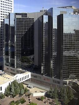 Bâtiments gratte-ciel du centre-ville alberta calgary
