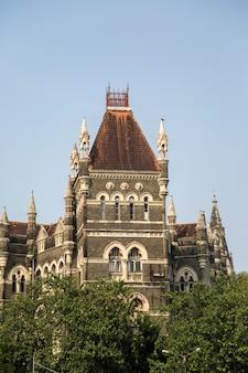 Bâtiments orientaux à mumbai, en inde