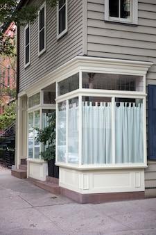 Bâtiments traditionnels de new york de brooklyn heights