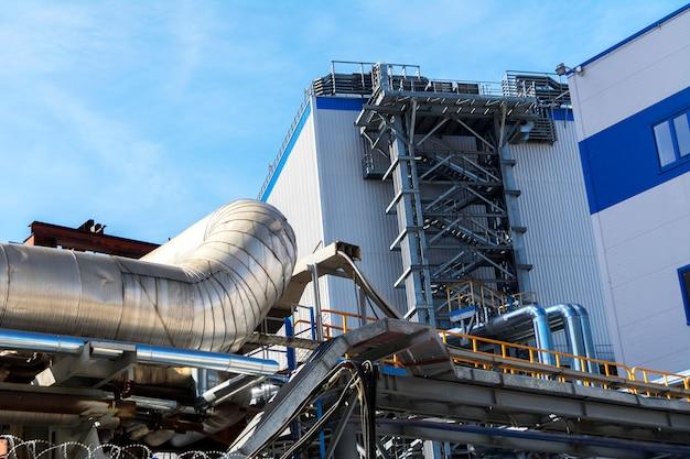 Bâtiments d'usine et communications