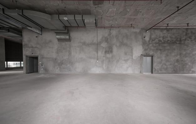 Bâtiments vides, cadre d'architecture d'intérieur