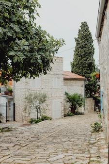Bâtiments de la vieille ville en croatie