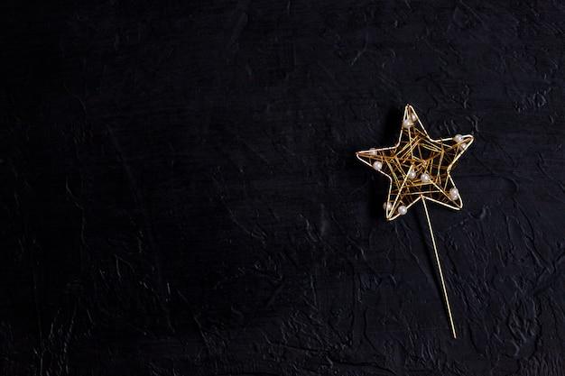 Bâton de coulée de baguette magique avec étoile