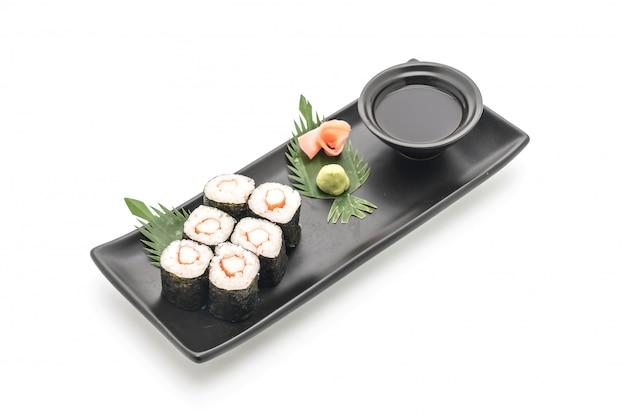 Baton de crabe maki sushi- style de cuisine japonaise