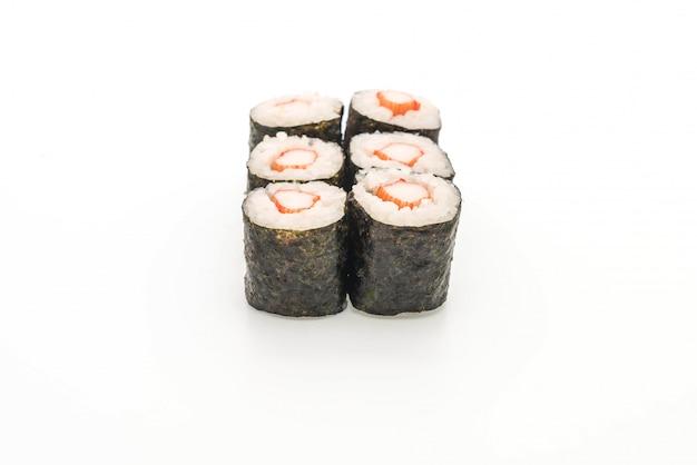 Bâton de crabe maki sushi- style de la cuisine japonaise