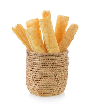 Bâtonnets à tarte ou à pain dans le panier