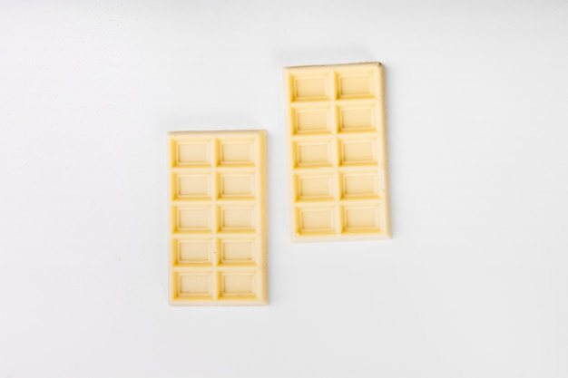 Bâtons de chocolat blanc