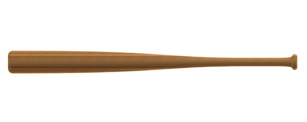 Batte de baseball en bois de teck