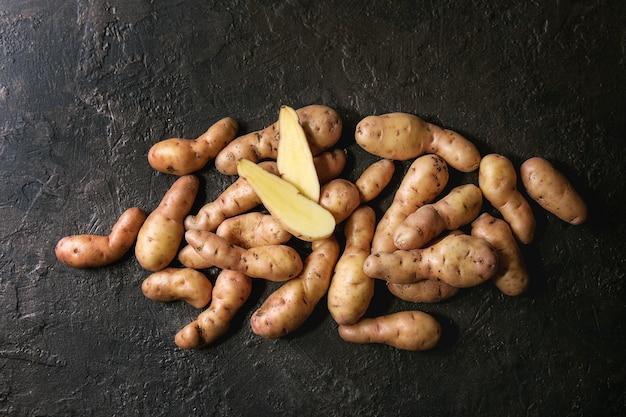 Bayard de pommes de terre crues