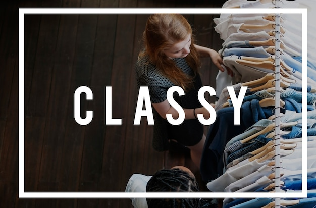 Be classy unique icon différent