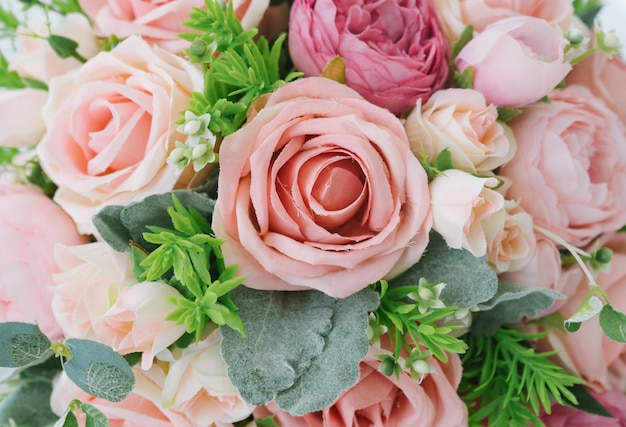 Beau bouquet de fleurs pour le fond