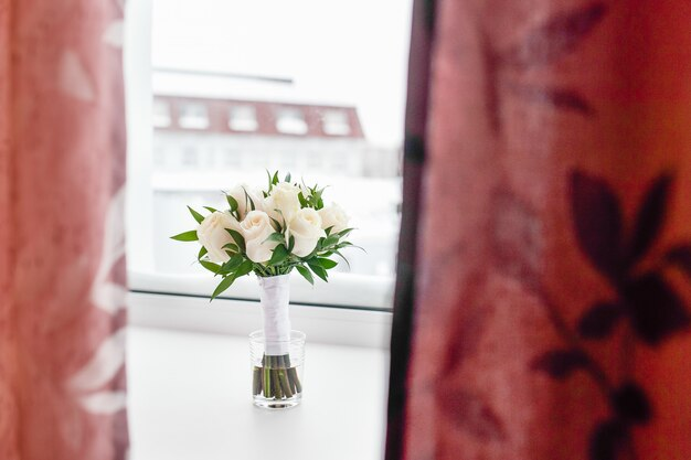 Beau bouquet de jolies fleurs