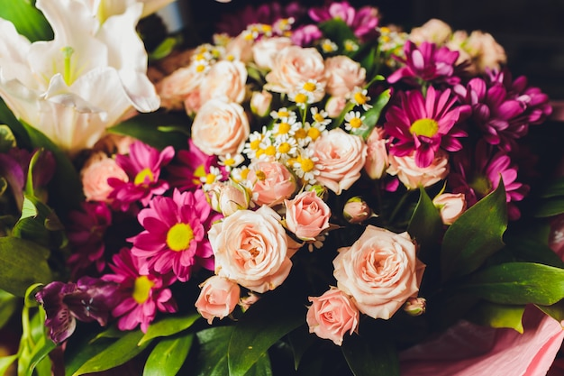 Beau bouquet de mariée