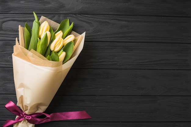 Beau bouquet de tulipes