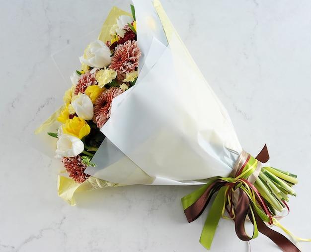 Beau bouquet de vacances pour un mariage de vacances
