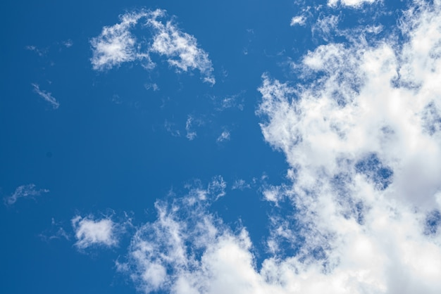 Beau ciel avec des nuages