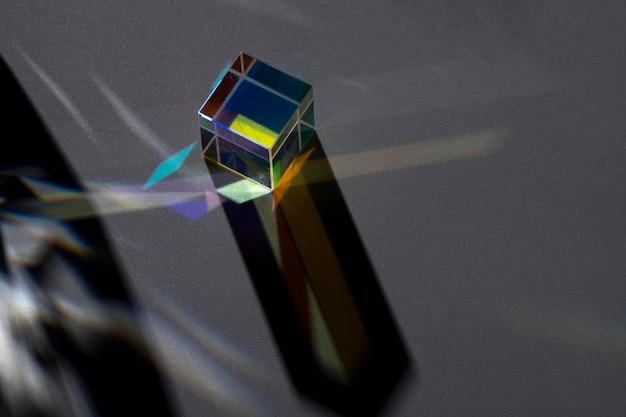 Beau concept de lumière de prisme