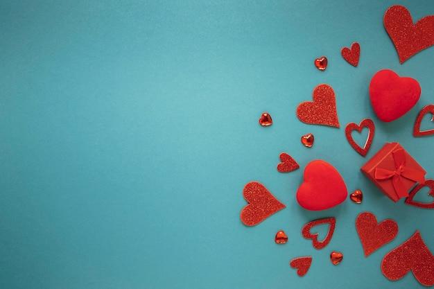 Beau Concept De La Saint-valentin Avec Espace Copie Photo gratuit
