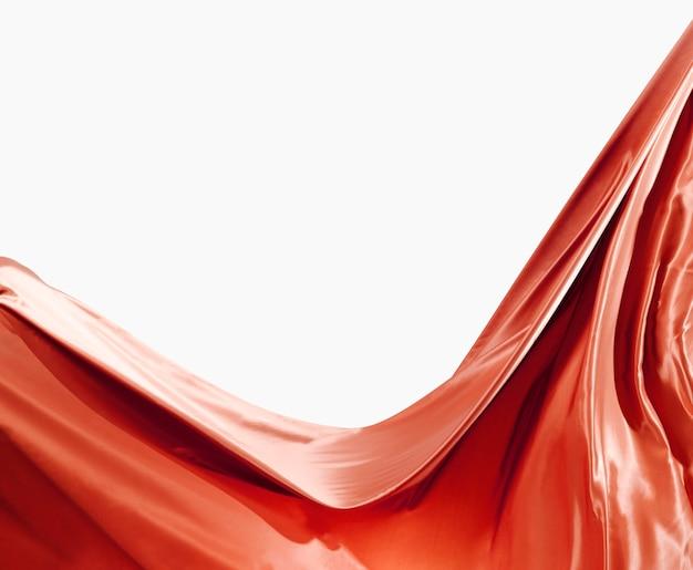 Beau concept de soie abstraite avec espace copie