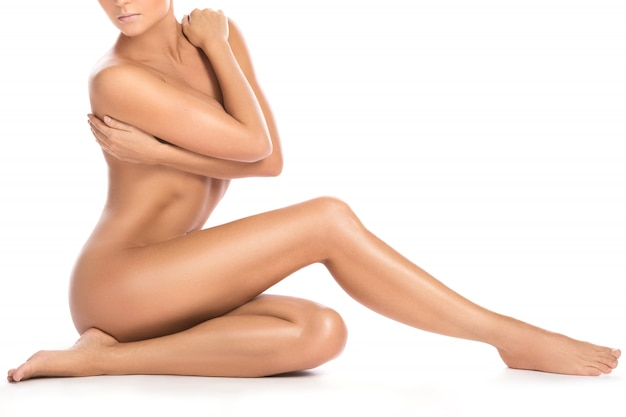 Beau corps féminin