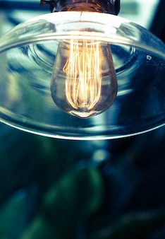 Beau décor de lampe témoin lumineux