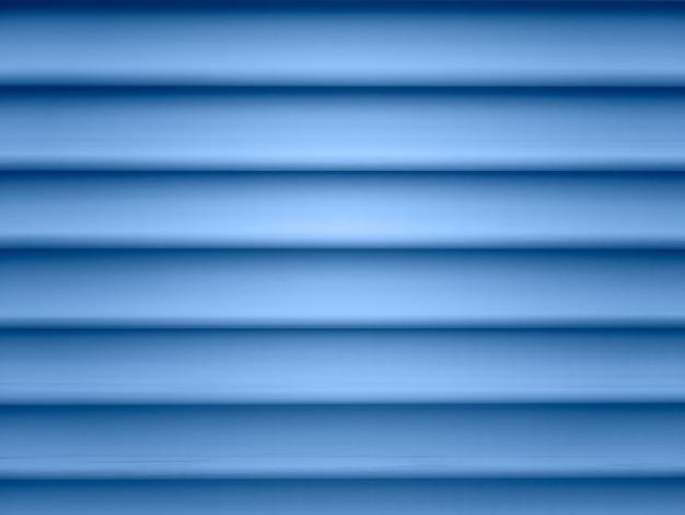 Beau détail de façade avec volets bleu vif. texture de jalousie en bois, fond, papier peint. idée de modèle, toile de fond aveugle. couleur bleu classique de l'année 2020