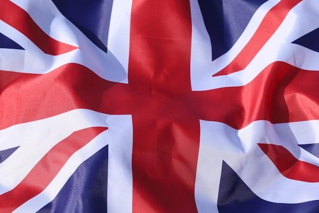 Beau drapeau de la grande-bretagne