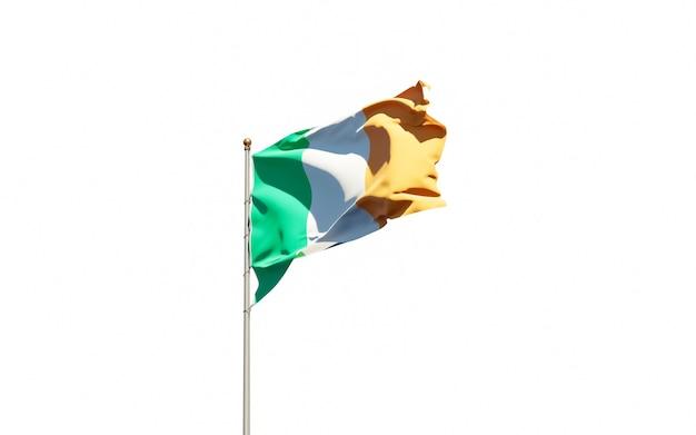 Beau drapeau national de l'irlande
