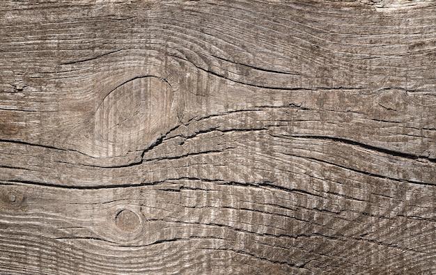 Beau fond en bois avec des nœuds et des fissures