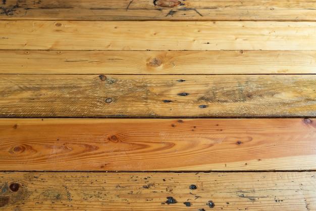 Beau fond en bois avec perspective
