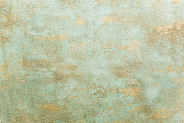 Beau fond de cuivre oxydé vert-de-gris