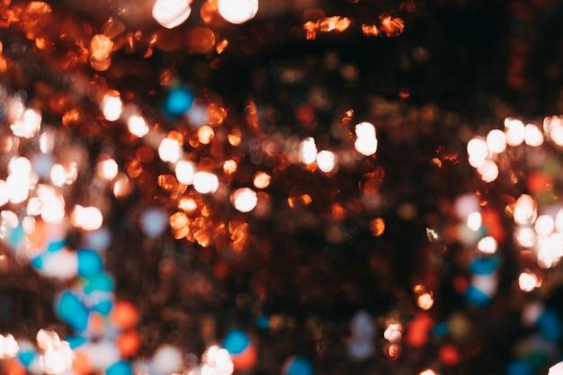 Beau fond de lumières de bokeh