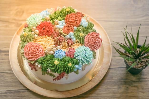 Un beau gâteau en fête