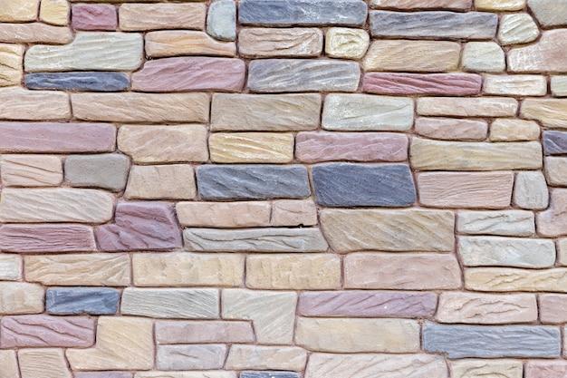 Beau modèle de mur de brique, fond grunge de texture de mur de brique grise