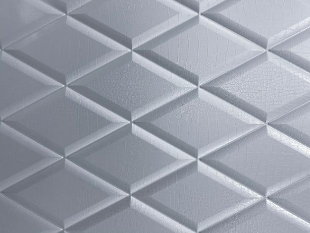 Beau motif de fond gris motif monochrome en forme géométrique