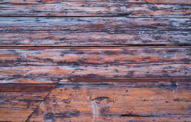 Beau mur en bois