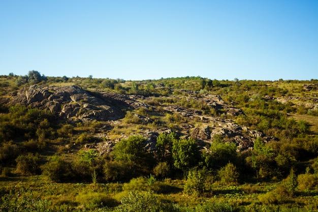 Beau paysage de canyon