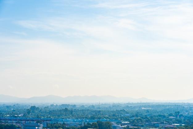 Beau paysage dans la ville de pattaya chonburi