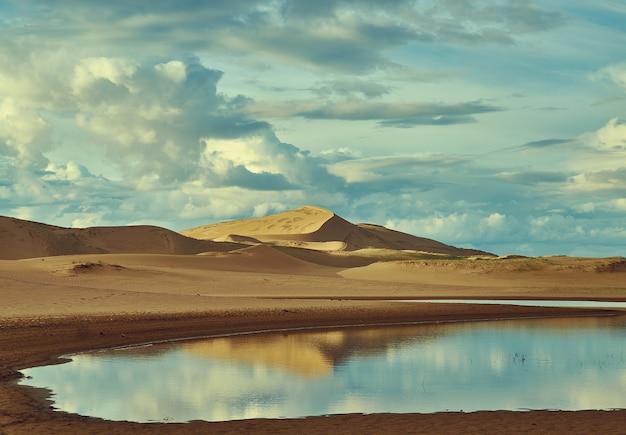 Beau paysage naturel avec des nuages spectaculaires