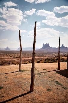 Beau paysage de paysage mesas à bryce canyon national park, utah, usa