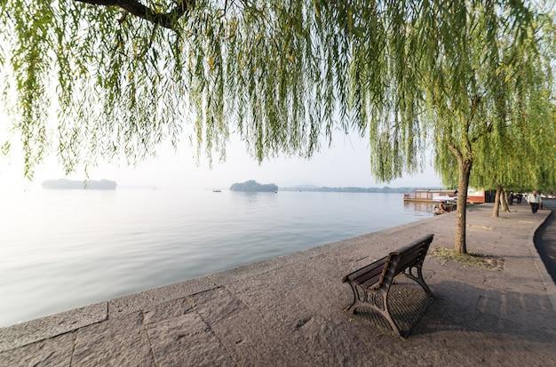 Beau paysage de west lake, hangzhou