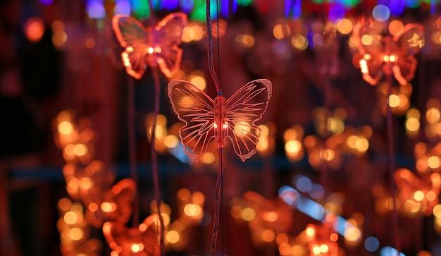 Beau spectacle de décoration d'éclairage led pour le nouvel an