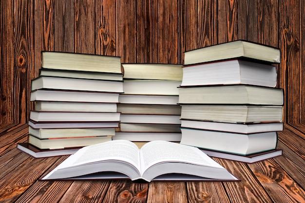 Beaucoup de livres sur le blanc