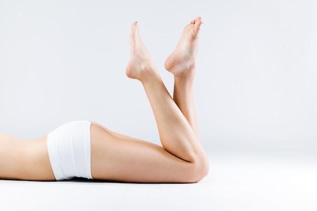 Beauté aux pieds nus belle santé sexy