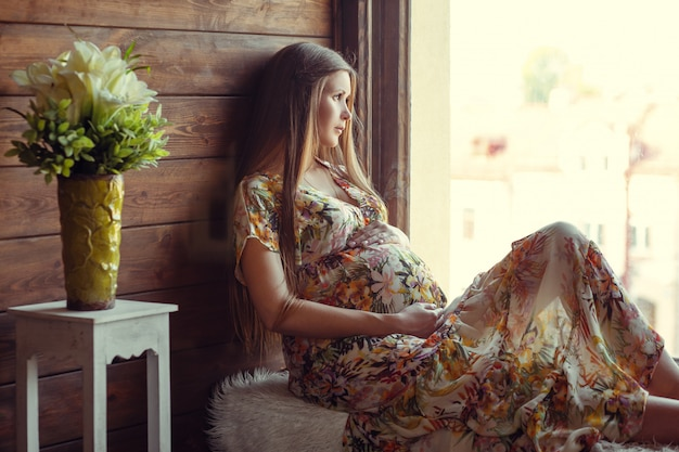 Beauté femme enceinte