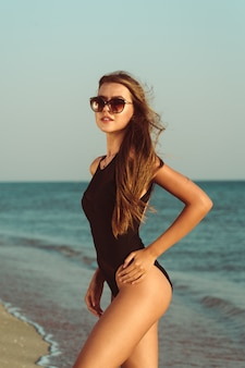 La beauté à la plage
