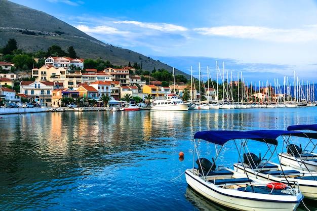 Beaux endroits de la grèce, île ionienne de céphalonie
