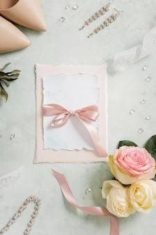 Beaux ornements pour le mariage