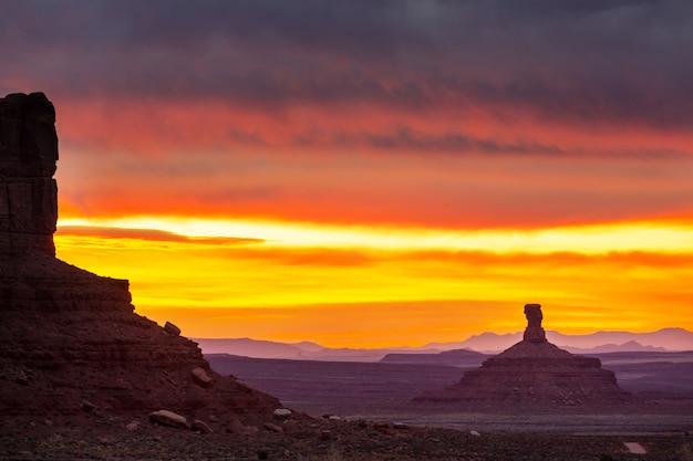 Beaux paysages du désert américain