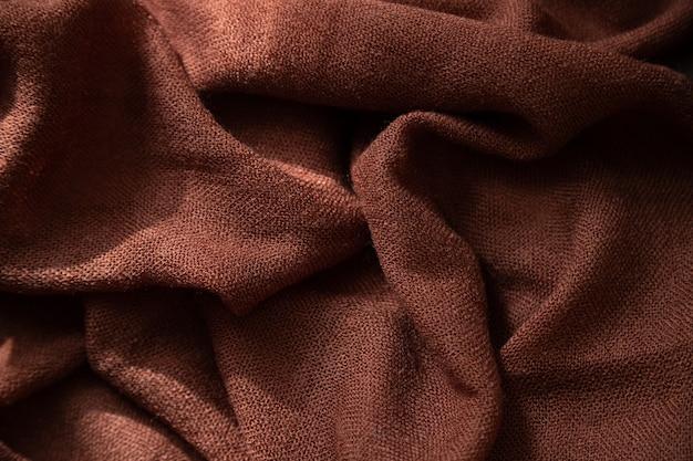 Beaux plis de fond étole de laine